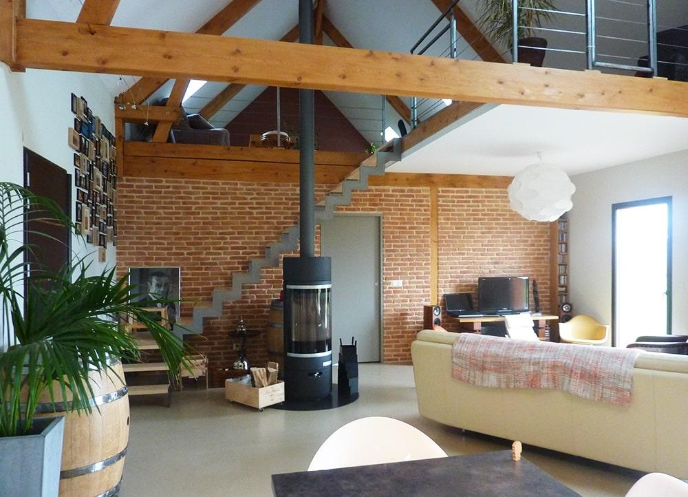 maison individuelle contemporaine poel bois