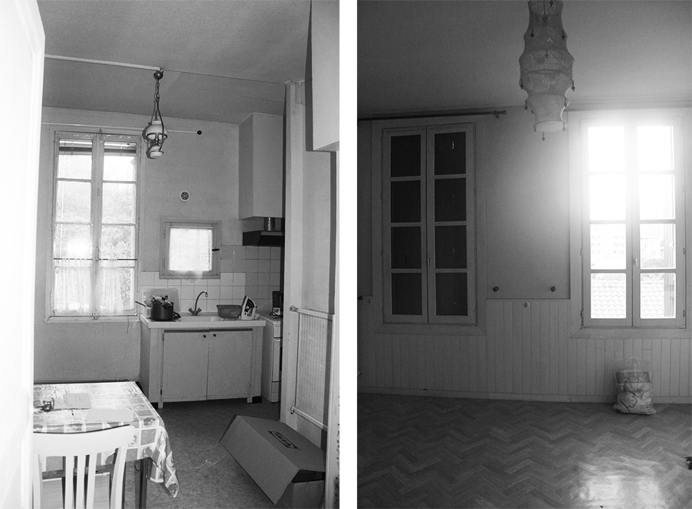 Rénovation appartement bourgeois photo existant