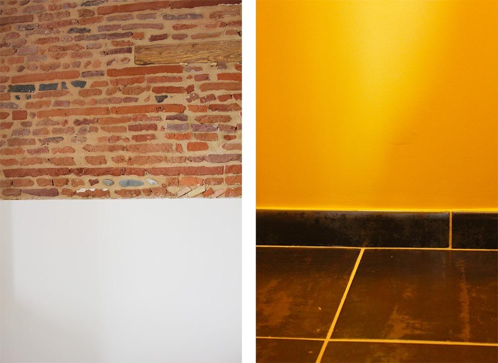 Rénovation appartement bourgeois aménagement matière et couleurs